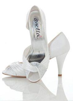 Saskia - Anella Wedding Shoes - Available @ Lealia Bridal STudio Wedding High Heels, Wedding Shoes, Evening Dresses For Weddings, Bridal Shoes, Boutique Dresses, Elegant Wedding, Couture, Sandals, Bliss