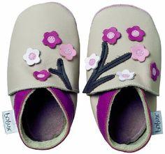 Bobux 460681 - Zapatos para bebé de cuero, color beige, talla 21-27 Monate / XL