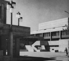 College of Economics, St. Gallen, Switzerland, 1964 (Förderer, Otto, Zwimpfer)