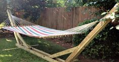Since we wont have two trees by each other in the backyard.DIY Hammock Stand I swear I wasn't looking for this Mack, it just appeared on the DIY page! If nothing else, we could contract a furniture maker to just make it for us, you know, correctly. Diy Instagram, Piscina Diy, Cheap Patio Furniture, Diy Furniture, Furniture Layout, Modern Furniture, Furniture Outlet, Victorian Furniture, Furniture Websites