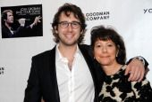 VNEW YORK, NY - JANUARY 20: Singer Josh Groban (L) and filmmaker Karen Goodman attend the 'Josh Groban: Sing Your Song: YoungArts MasterClass' screening at Museum of Modern Art on January 20, 2...