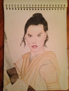 Rey from Star Wars force awakens
