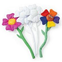 Decorate Your Own Flowers - Set of 6