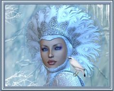 Winter Goddess -  Pic by adrie