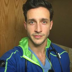 Hot Doctor, Male Doctor, Dr Mike Varshavski, Beautiful Men Faces, Beautiful People, Family Doctors, Men In Uniform, Night Shift, People Magazine