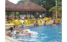 aluguel temporada caldas novas no clube c/ parque aquatico termal  2q...