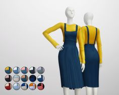 Rusty's — Overall Skirts / T-Shirt 15 Color 무단수정/2차배포 절대 금지 ...