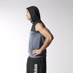 adidas - STREETBALL HOODY Street Basketball, Hoody, Gym Men, Adidas, Clothes, Fashion, Outfits, Moda, Clothing