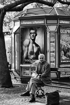 Paris Street Photography - Urban Solitude