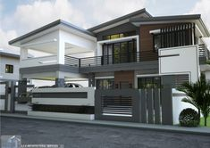 Is a 4 bedroom two story house which can be built in a 180 sq. m. lot having a minimum lot frontage of 12 meters. This design features 2 car garage, kitchen with bar, family hall and balcony over garage. At the main entrance you can see the living room which is open all the way …