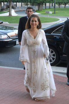 Haya bint Al Hussein. Princess Haya, Royal Princess, Royal Brides, Royal Weddings, Queen Noor, Morrocan Dress, Jordan Royal Family, Party Queen, Royal Queen