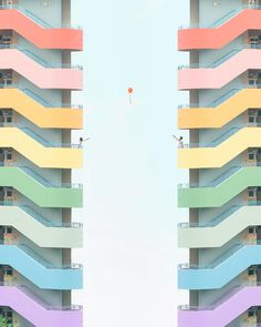 Minimalist Architecture And Industrial Photography By Chak Kit - pinupi love to share Hong Kong Architecture, Architecture Design, Minimalist Architecture, Beautiful Architecture, Architecture Geometric, Minimal Photography, Industrial Photography, Art Photography, Rainbow Photography
