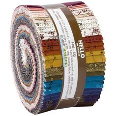 Robert Kaufman Fabrics Mill Pond Jill Shaulis Roll Up Jelly Roll Fabric Strips Hancocks Of Paducah, Robert Kaufman, Fabric Strips, Jelly, Cotton Fabric, Marmalade, Jello