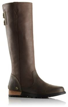 The Major Tall is a stately suede and full-grain leather boot with a canvas lining, a leather-wrapped heel and a rubber outsole for extra grip.