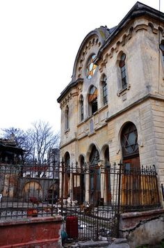 The Great Synagogue of Constanta, Romania Abandoned Churches, Abandoned Places, Constanta Romania, Castle Ruins, Haunted Places, Moorish, Old City, Beautiful Places, Around The Worlds