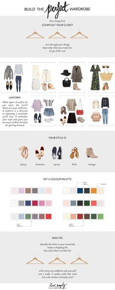 Katberries: HOW TO BUILD THE PERFECT (CAPSULE) WARDROBE My streamlined seasonal process.