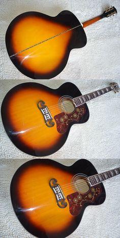 Factory + stock product Chibson J200 Sunburst guitar, guitarra replica J200 electric acoustic guitar maple top handmade guitar