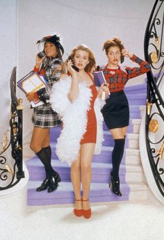 Watch Clueless full hd online Directed by Amy Heckerling. With Alicia Silverstone, Stacey Dash, Brittany Murphy, Paul Rudd. A rich high school student tries to boost a new pupil's popularity, Teen Movies, Iconic Movies, Good Movies, Indie Movies, 1990s Movies, Girly Movies, Comedy Movies, Clueless 1995, Clueless Outfits