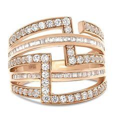 1 1/4 ct. tw. Diamond Ring in 10K Rose Gold - 2265464 - Helzberg Diamonds