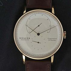 Temptation Thursday by Escapement: Nomos Glashütte Lambda Roségold