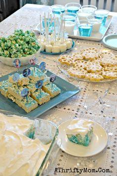 Frozen party, #DisneyMySide, Easy Frozen party ideas