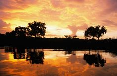 A First timer's Guide to Guyana Sunset at Berbice River. Image: Guyana Tourism Board From the vibrant hubbub of colonial Georgetown to incredible natural sights and eco-tourism opportunities, this South American nation offers visitors plenty of adventure