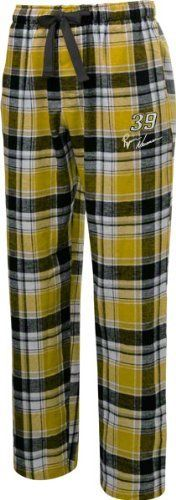 Ryan Newman Black/Gold Legend Flannel Pants by College Concepts. $25.99. Make every night a moment to cheer on your favorite race car driver while you drift off to dream land in these Ryan Newman Midnight Blue/Charcoal Legend Pants. Cozy and soft, these flannel lounge pants with and embroidered logo on the left leg are the perfect thing to wear when you are counting laps instead of sheep.