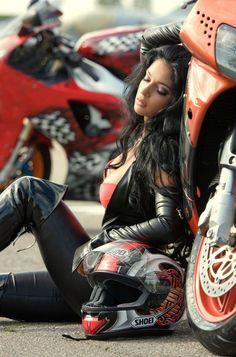 #bike #babe #sexy #girl #hot