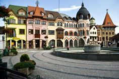 Slovakia, Komárno - Square of Europe