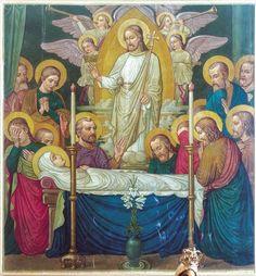 The Death of the Virgin by Fr. Bonaventure Ostendarp