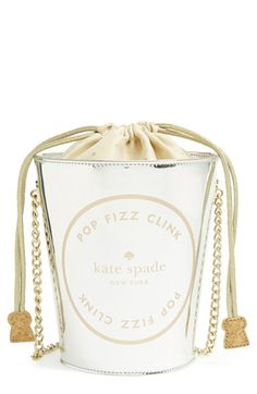 kate spade new york 'place your bets - champagne bucket' tote available at #Nordstrom