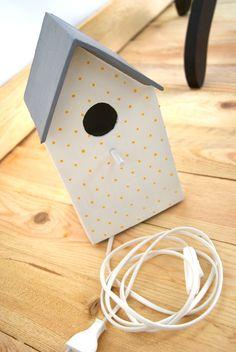 Birdhouse lamp by La Factoría Plástica