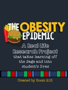 Real Life Research Project: The Obesity Epidemic & Fast Food - Health Class - Goodfood web Nutrition Classes, Nutrition Guide, Nutrition Education, Physical Education, Complete Nutrition, Holistic Nutrition, Healthy Nutrition, Proper Nutrition, Eat Healthy