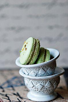 #Pistachio #Macarons