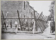Vankileiri Kuopiossa Finnish Civil War, Civilization, Finland, History, Painting, Outdoor, Art, Outdoors, Art Background