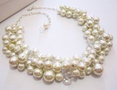 Hey, I found this really awesome Etsy listing at https://www.etsy.com/listing/185186552/pearl-wedding-necklace-bridal-necklace