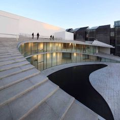 Tree Art Museum / Daipu Architects Completed in 2009 in Beijing China. Images by SHU He. Located in Songzhuang Beijing China Tree art museum lies beside the main road of the area. Original village has vanished replaced by big scale. Museum Architecture, Space Architecture, Amazing Architecture, Contemporary Architecture, Cultural Architecture, Exhibition Room, Peking, Tree Art, Landscape Design
