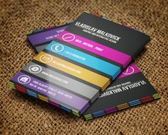 Designer Business Card 2  by Jorge Lima (via Creattica)