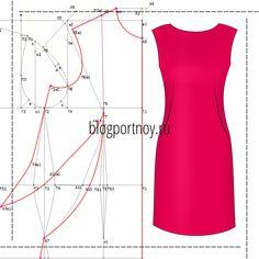 Платье с французской вытачкой. Моделируем на базовой основе платья.