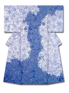 """Good Shadow""   Kimono created and named by Mishima Tomoko.   Winner of the Kyotoshinbunsha Award at the 31st Annual Meeting of the Japanese textile artist Exhibition award.  Japan"