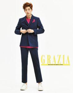 Seo Kang Joon - Grazia Magazine March Issue '16