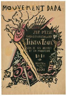 A Dada Exhibition Fetishizes the Movements Ephemera via:...