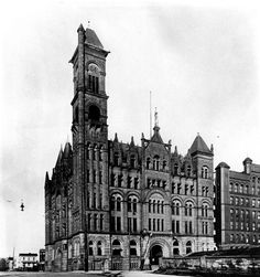 Classical Architecture, Historical Architecture, Old Pictures, Old Photos, City Buildings, Nebraska, Big Ben, History, Skyscrapers