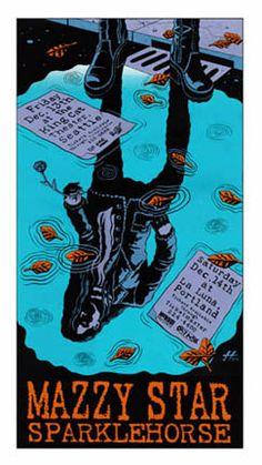 Mazzy Star & Sparklehorse by Justin Hampton.