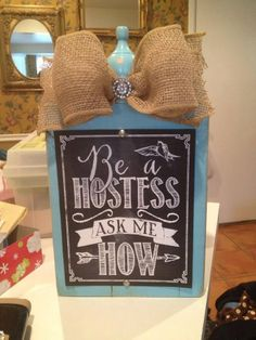 Cute Hostess Sign for your display table! https://sherrys.scentsy.us/ sedona6973@hotmail.com