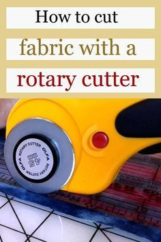 Rotary cutter tips and tricks – what mistakes to avoid – Sewing Projects Easy Sewing Patterns, Easy Sewing Projects, Sewing Projects For Beginners, Sewing Tutorials, Sewing Crafts, Apron Patterns, Bag Tutorials, Quilt Tutorials, Dress Patterns