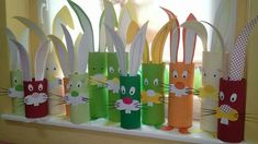 Velka noc Bunny Crafts, Bird Crafts, Diy And Crafts, Easter Craft Activities, Easter Crafts For Kids, Spring Art, Spring Crafts, Rainy Day Crafts, Toilet Paper Roll Crafts