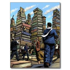 Book City Postcard