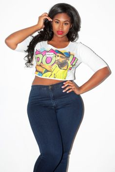 fresh prince crop top plus size