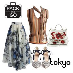 """""""to your screen from tokyo"""" by masayuki4499 ❤ liked on Polyvore featuring Dolce&Gabbana, Hermès, Chicwish and J.Crew"""
